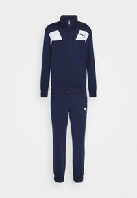 Puma - TECHSTRIPE TRICOT SUIT - Survêtement - peacoat - 0