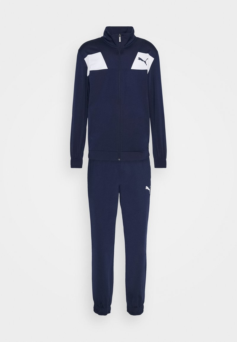 Puma - TECHSTRIPE TRICOT SUIT - Survêtement - peacoat