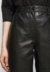 Lovechild - ASTON - Kožené kalhoty - black - 5