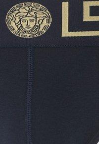 Versace - BASSO INTIMO UOMO 2 PACK - Underbukse - white/blue - 3