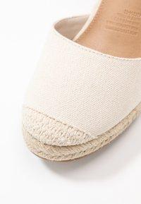 Rubi Shoes by Cotton On - JARDAN TIE UP  - Sandály na vysokém podpatku - stone - 2
