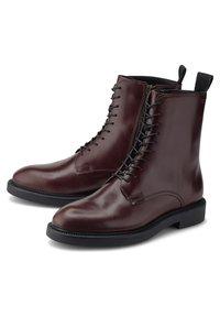Vagabond - ALEX W - Lace-up ankle boots - mittelbraun - 2