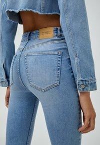 PULL&BEAR - Jeans Skinny Fit - light blue - 5