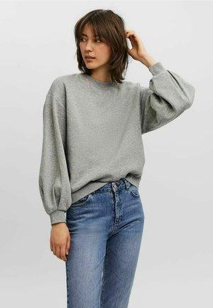 LANGÄRMELIG - Sweatshirt - light grey melange