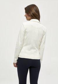 Minus - CARMEN  - Blazer - broken white - 2