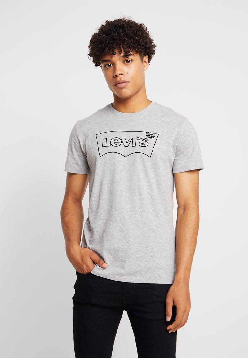 Levi's® Extra - Print T-shirt - mid tone grey heather