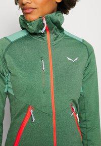 Salewa - AGNER HYBRID  - Fleece jacket - feldspar green melange - 3