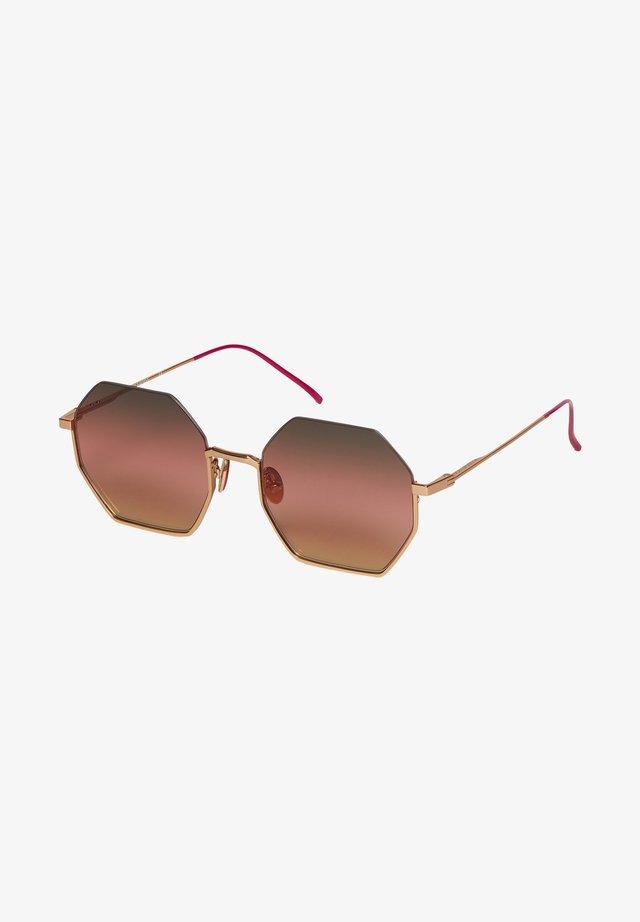 Occhiali da sole - gold  pink
