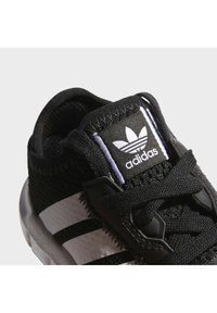 adidas Originals - SWIFT RUN UNISEX - Trainers - core black/ftwr white/core black - 8