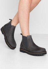 Birkenstock - STALON - Ankle boots - graphite - 0