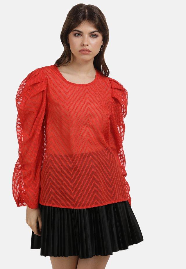 Bluzka - rot