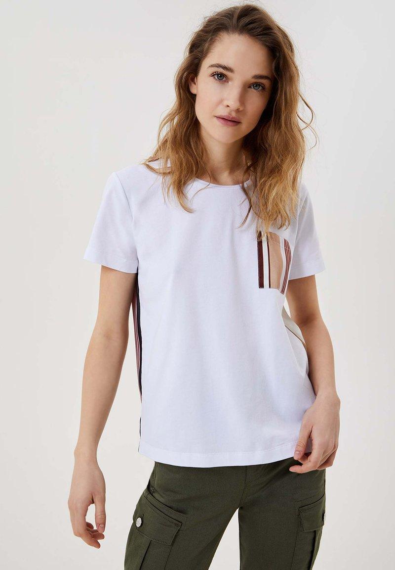 LIU JO - Print T-shirt - white