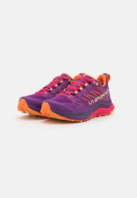 La Sportiva - JACKAL WOMAN - Scarpe da trail running - blueberry/love potion - 1