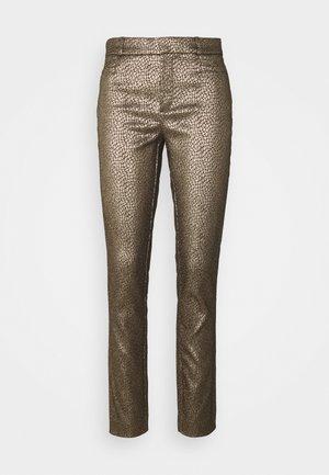 SLOAN MODERN DOT - Pantalon classique - gold