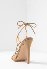 Public Desire - SAVY - High heeled sandals - nude - 5