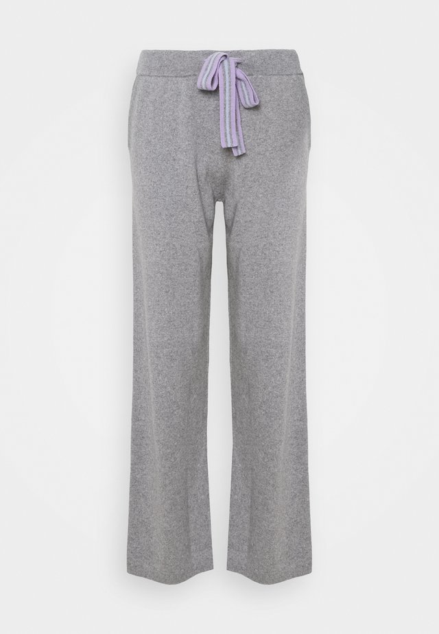 RING MASTER TRACK PANTS - Pantalon de survêtement - grey/lilac/blue