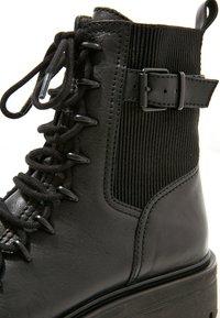 Inuovo - Platform ankle boots - blackblk - 6