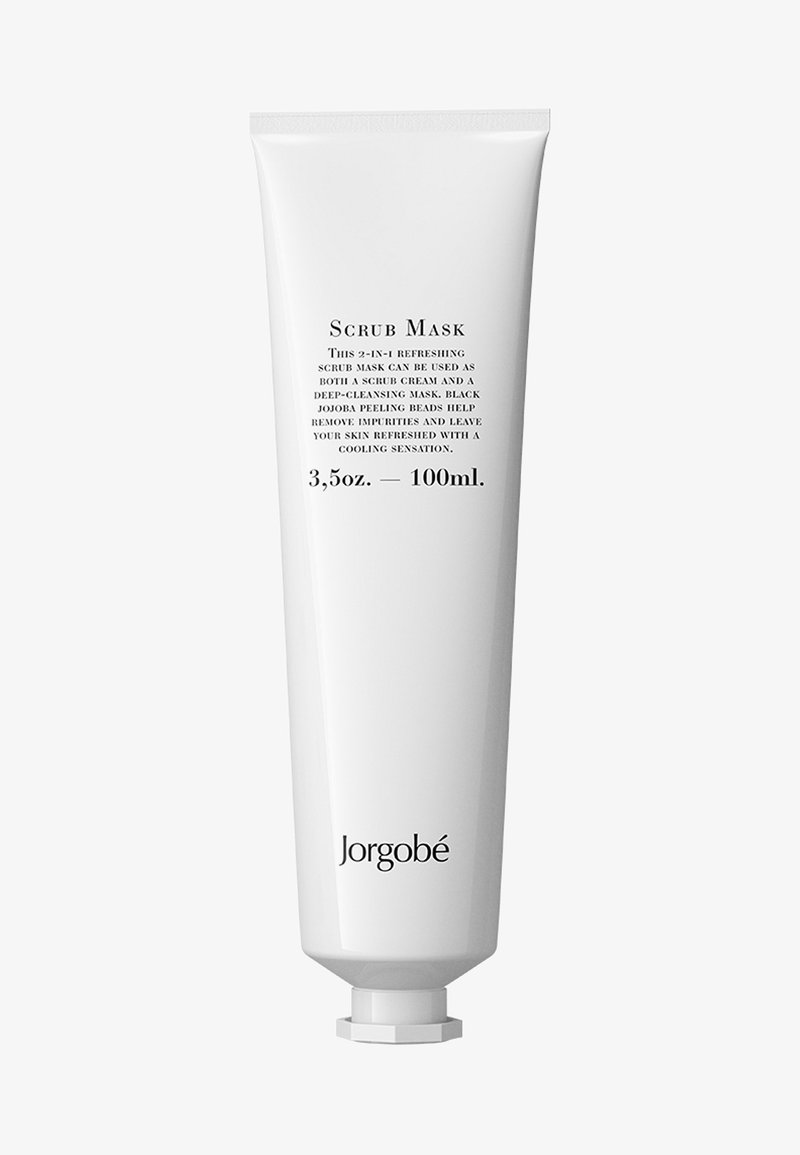 Jorgobé - REFRESHING SCRUB MASK, 100ML - Peeling do twarzy - -