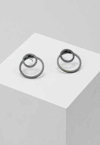 EARRINGS ZOOEY - Earrings - gunmetal