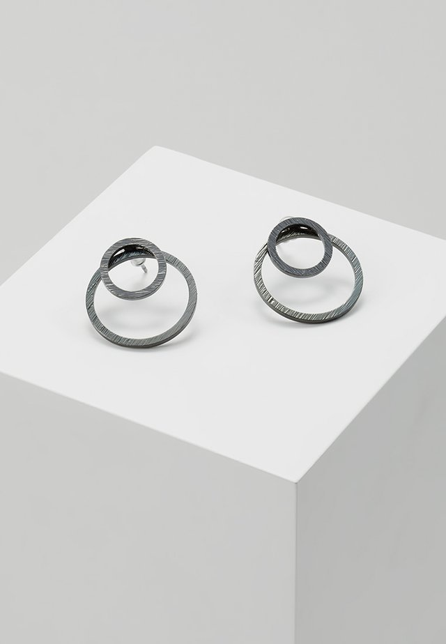 EARRINGS ZOOEY - Øredobber - gunmetal