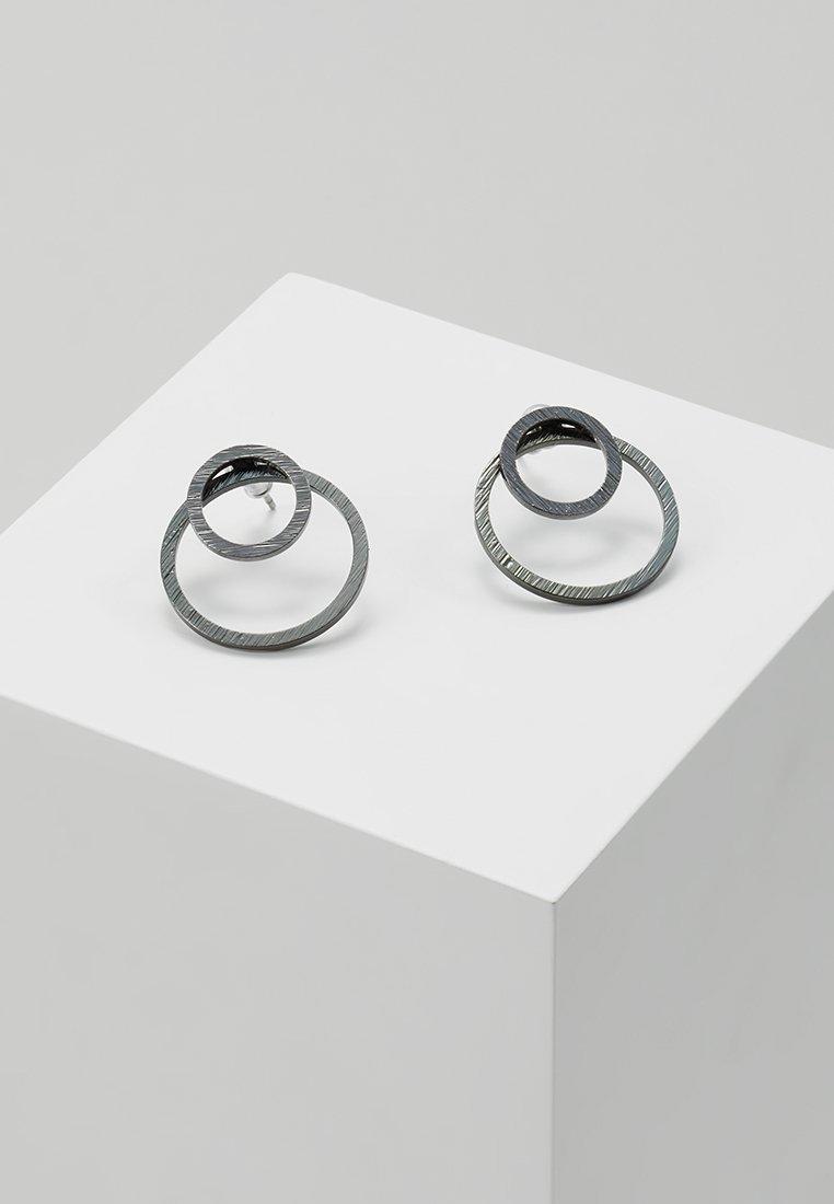 Pilgrim - EARRINGS ZOOEY - Earrings - gunmetal