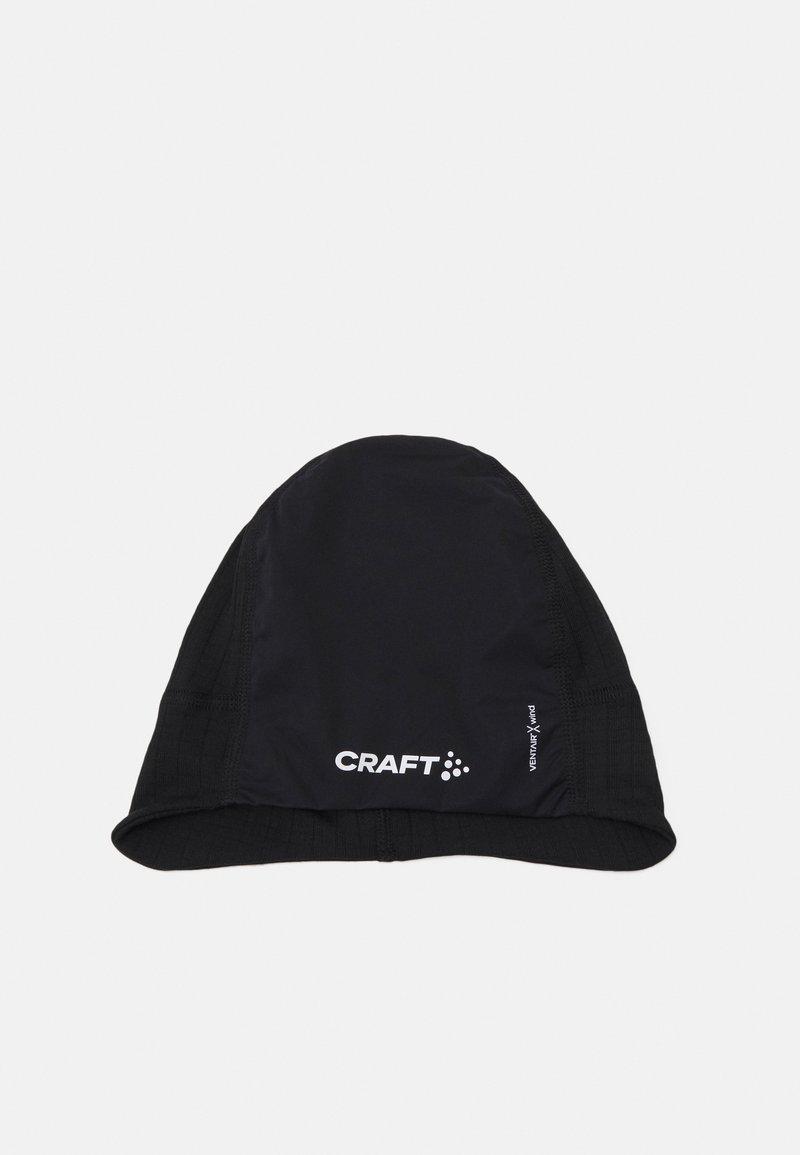 Craft - ACTIVE EXTREME X WIND HAT UNISEX - Beanie - black/granite