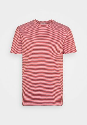 LUKA  - Print T-shirt - red ochre