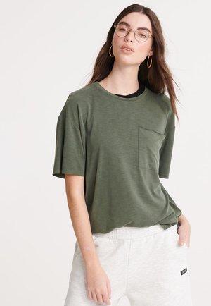 Basic T-shirt - capulet olive