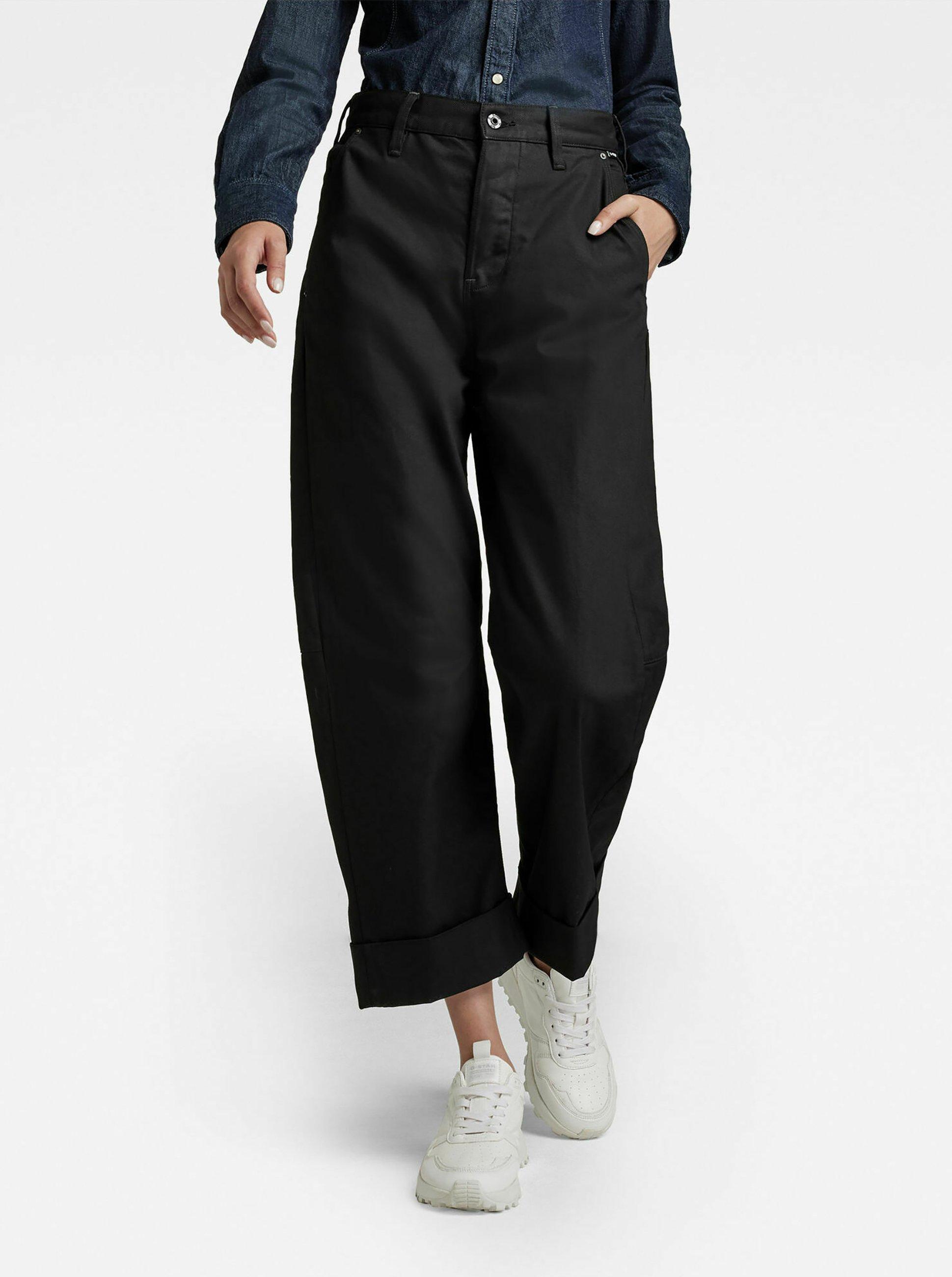 Femme EVE 3D WIDE LEG - Pantalon classique