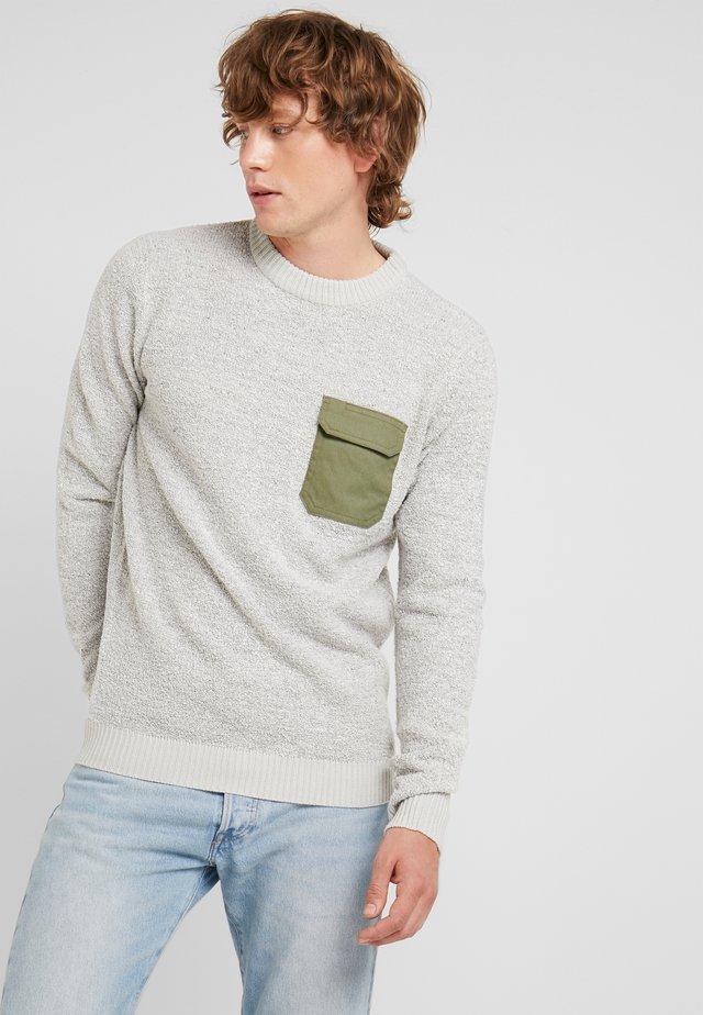 LARVIK  - Pullover - light grey