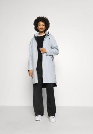 RAIN - Waterproof jacket - white blue