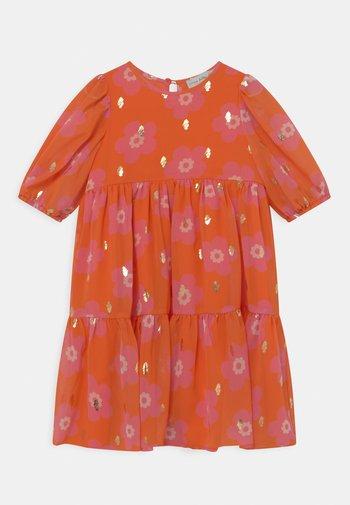 MIDI - Robe de soirée - orange
