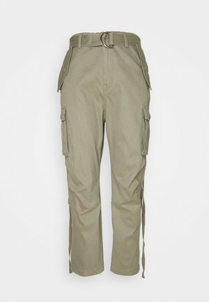 PANTS - Cargo trousers - moss green