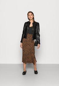 Gipsy - ZAI LASTAV - Leather jacket - black - 1