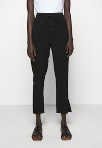 Theory - SLIT PULL ON ADMIR - Trousers - black - 0