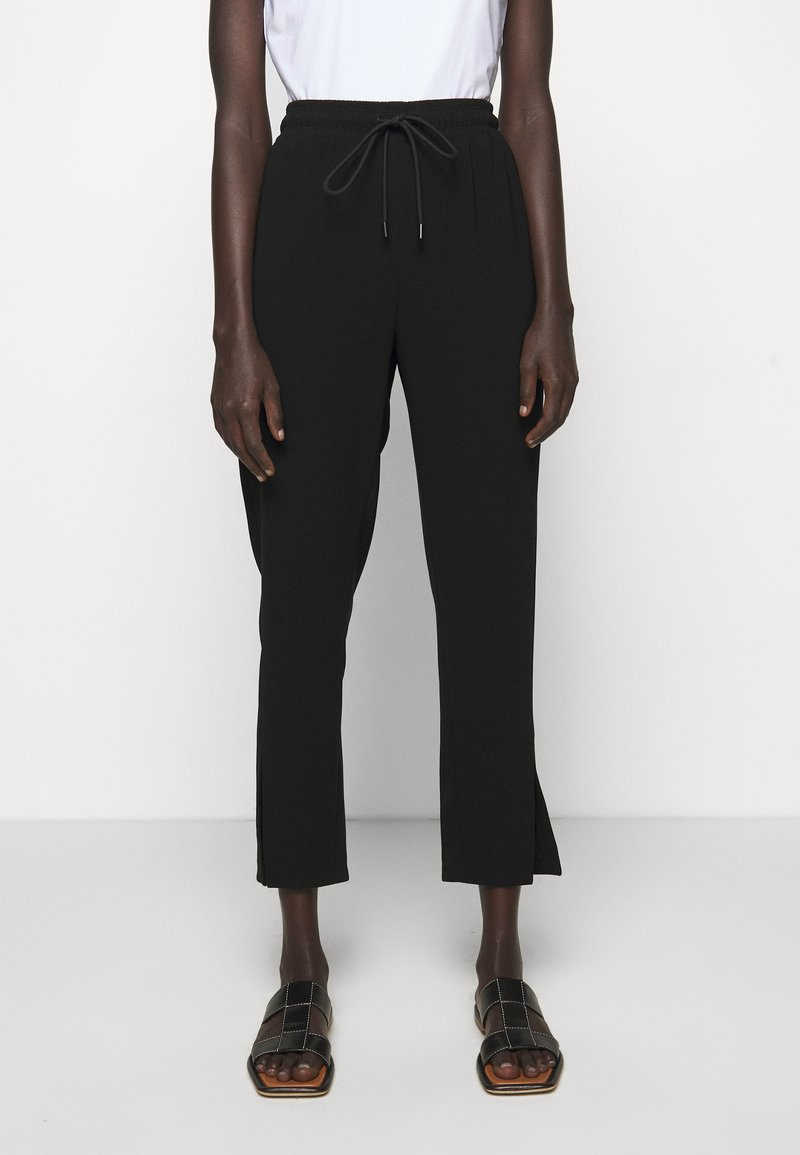 Theory - SLIT PULL ON ADMIR - Trousers - black