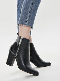 ONLY - EMILY  - Straight leg jeans - dark blue denim - 3