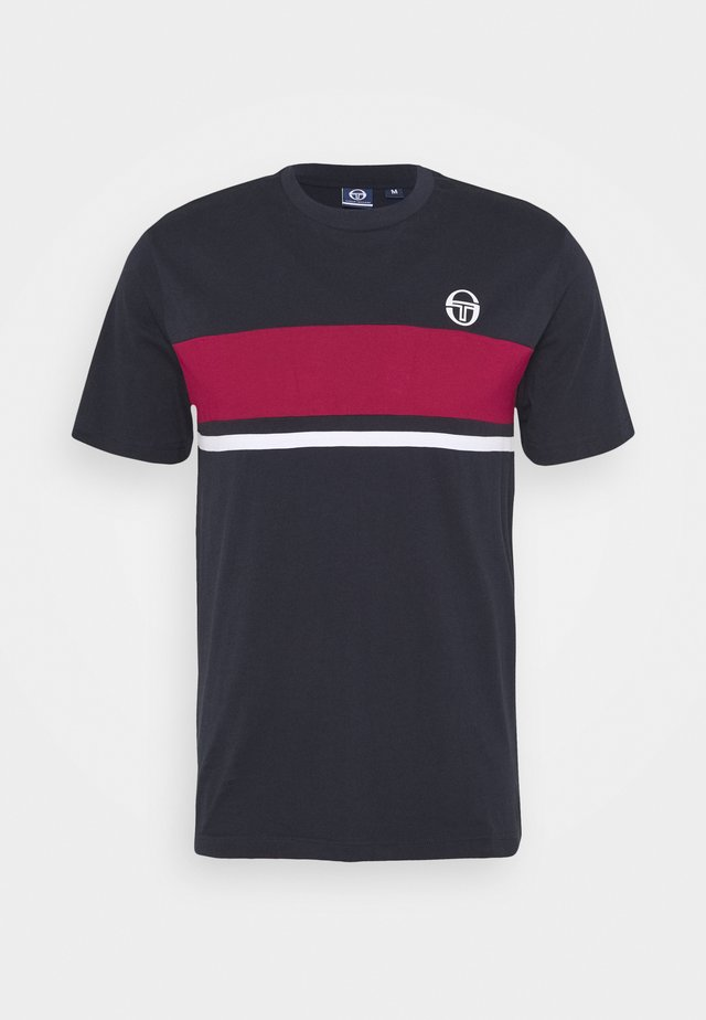 FELUGA - Camiseta estampada - navy/applered