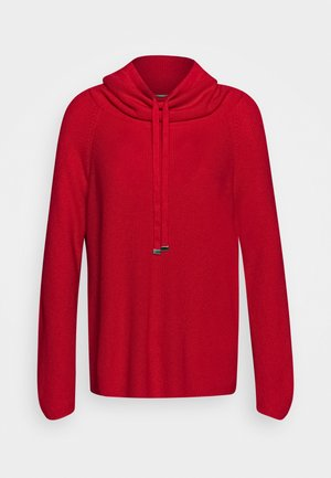 TURTLE NECK - Jumper - red