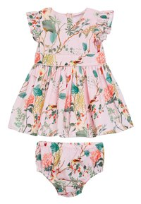 Next - FLORAL PROM (0MTHS-2YRS) - Day dress - pink - 0