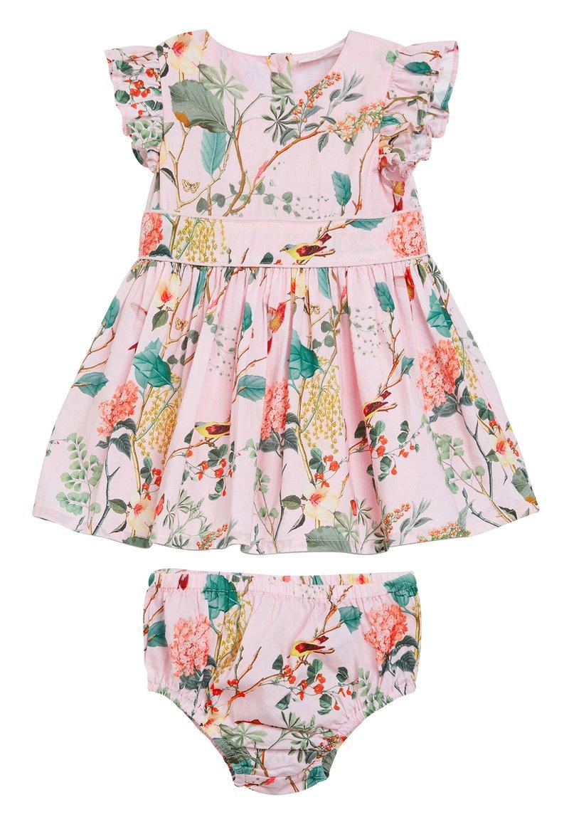 Next - FLORAL PROM (0MTHS-2YRS) - Denní šaty - pink