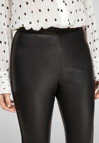 s.Oliver BLACK LABEL - Leggings - Trousers - black - 4