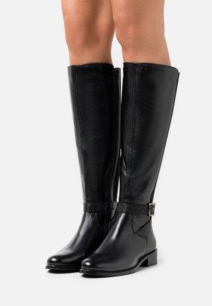 SEBERA - Vysoká obuv - noir