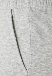Vila - VIRUST - Shorts - light grey melange - 2