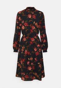 ONLY - ONLNOVA LUX SMOCK DRESS - Sukienka letnia - black - 5