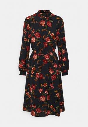 ONLNOVA LUX SMOCK DRESS - Denní šaty - black