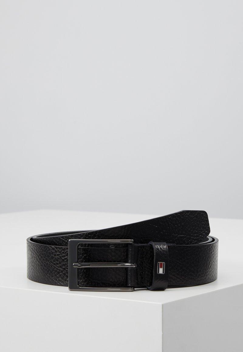 Tommy Hilfiger - LAYTON PEBBLE - Belt - black