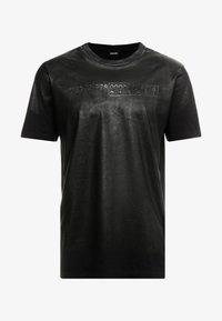 Diesel - T-JUST-J1 T-SHIRT - T-shirt imprimé - black - 3