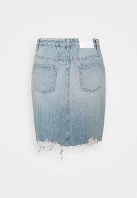 CLOSED - SHEMMETT - Mini skirt - mid blue - 1