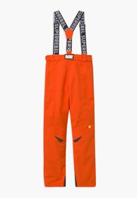 SuperRebel - SUSTAINABLE UNISEX - Zimní kalhoty - neon orange - 1